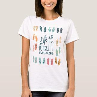 Het leven is beter in het Overhemd van de Pret van T Shirt