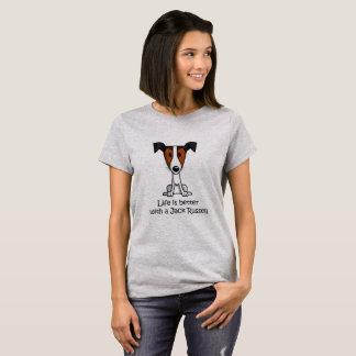 Het leven is Beter met een Hefboom Russell T Shirt