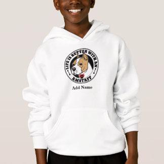 Het leven is Beter met een Staffordshire Terrier