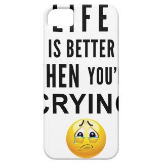 Het leven is Beter wanneer u schreeuwt Barely There iPhone 5 Hoesje