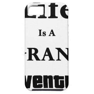 Het leven is Groot Avontuur Tough iPhone 5 Hoesje