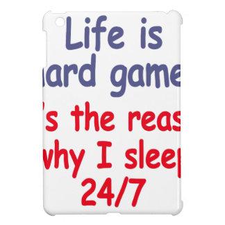 Het leven is hard spel, is het de reden waarom ik iPad mini covers