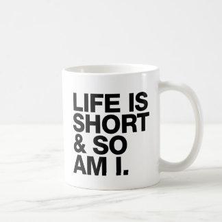 Het leven is plotseling & zo geweest het Grappige Koffiemok