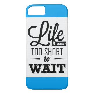Het leven is te kort om iPhone 7 een te denken van iPhone 7 Hoesje