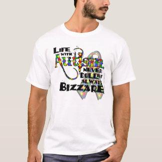 Het leven met de T-shirt van het Autisme