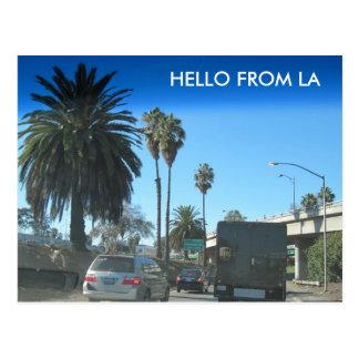 Het leven op de Snelweg van Los Angeles Briefkaart