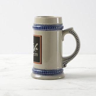 Het LEVEN Origineel Copyright van de OLIE Bierpul
