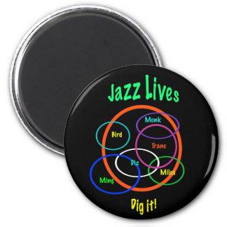 Het Leven van de jazz Magneet
