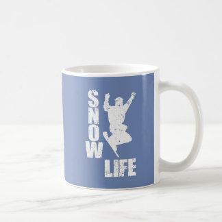 Het LEVEN van de SNEEUW #3 (wht) Koffiemok