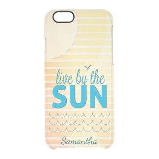 Het Leven van de zomer Doorzichtig iPhone 6/6S Hoesje