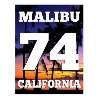 Het Leven van het Strand van Malibu Californië de Briefkaart