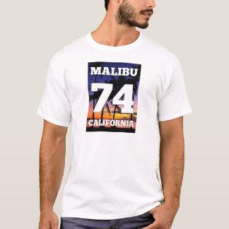 Het Leven van het Strand van Malibu Californië de T Shirt
