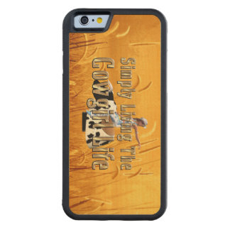 Het Leven van het T-SHIRT eenvoudig het Leven van Esdoorn iPhone 6 Bumper Case