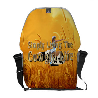 Het Leven van het T-SHIRT eenvoudig het Leven van Messenger Bag
