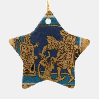 Het leven van Jesus Keramisch Ster Ornament