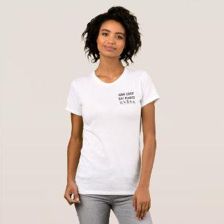 Het LEVEN van SAVE EET de T-shirt van het PLANT