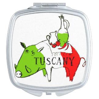 Het leven van Toscanië Makeup Spiegel