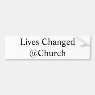 Het leven Veranderde @Church sticker