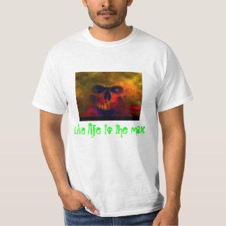 """Het """"levende leven aan de maximum"""" Kleding T Shirt"""