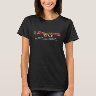 Het LEVENDE Overhemd van het Paard van het Staal T Shirt