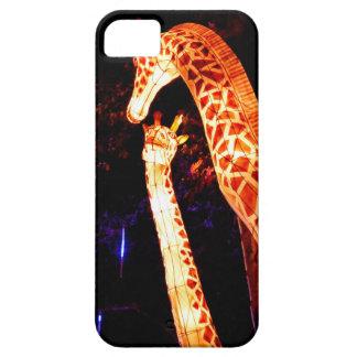 Het licht van de giraf op het festivalart. van de barely there iPhone 5 hoesje