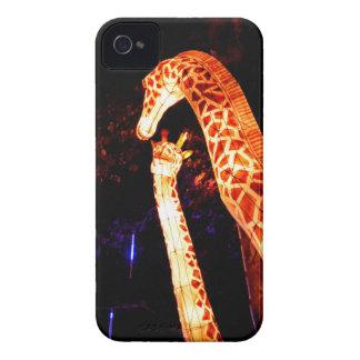 Het licht van de giraf op het festivalart. van de iPhone 4 hoesje