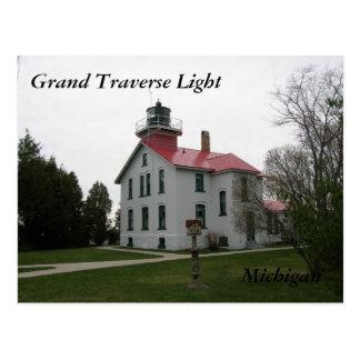 Het Licht van Grand Traverse, de Briefkaarten van