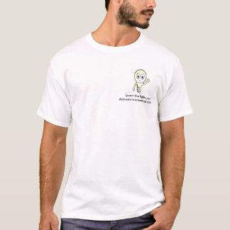 het licht, verlaat de lichten!!! Anti-milieu… T Shirt