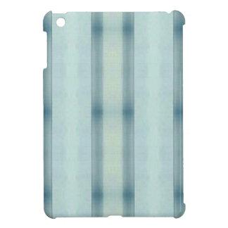 Het lichte Luchtige Zachte Blauwgroen Gestreepte iPad Mini Case