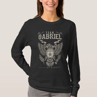 Het Lid van het Leven van GABRIEL van het team. De T Shirt