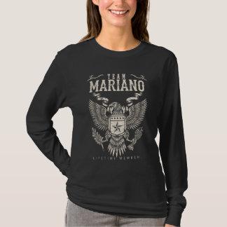Het Lid van het Leven van MARIANO van het team. De T Shirt
