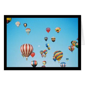 Het Lied van de Ballons van de hete Lucht van Sol. Kaart