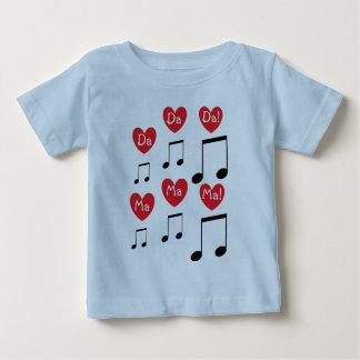 Het Lied van het baby Baby T Shirts
