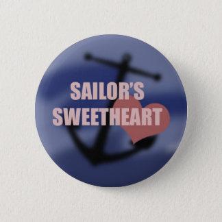 Het Liefje van de zeeman Ronde Button 5,7 Cm