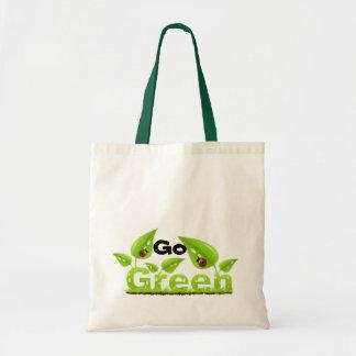 Het lieveheersbeestje gaat Groen Draagtas