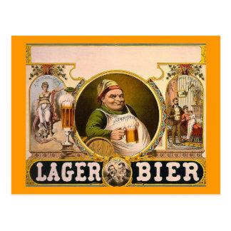 Het Lijkbaar van het lagerbier - de Gezonde Drank! Briefkaart