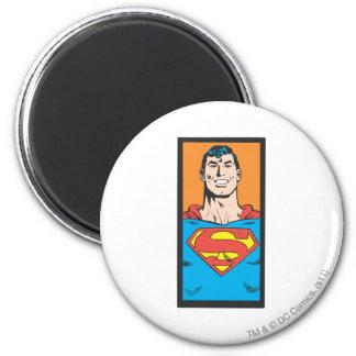 Het Lijst van de Mislukking van de superman Ronde Magneet 5,7 Cm