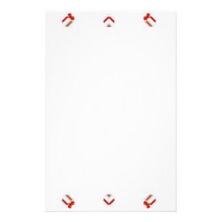 Het Lijst van Kerstmis Briefpapier
