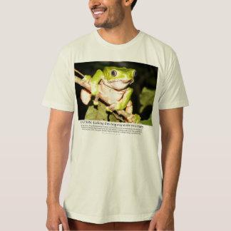 Het likken van deze kikker kan u gek maken t shirt