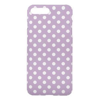 Het lila Paarse Patroon van de Stip iPhone 7 Plus Hoesje