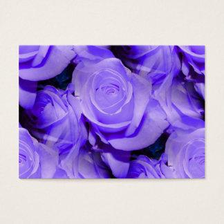 Het lila Visitekaartje van Rozen Visitekaartjes