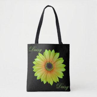 Het Limoen Daisy Tote van de gradiënt Draagtas