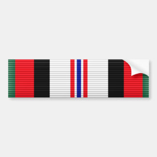 Het Lint van de Dienst van de Campagne van Afghani Bumpersticker