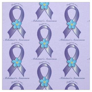 Het Lint van de Voorlichting van Alzheimer met Stof
