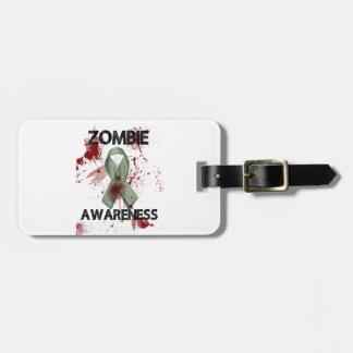 Het Lint van de Voorlichting van de zombie - Kofferlabel
