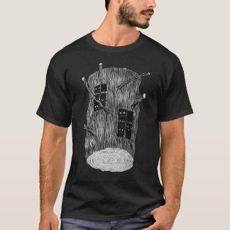 Het Logboek van de boom met Geheimzinnige T Shirt