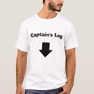 Het Logboek van de kapitein T Shirt