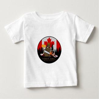Het Logboek van de Koning van het hout en het Baby T Shirts