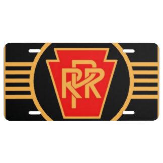Het Logo, de Zwarte & het Goud van de Spoorweg van Nummerplaat