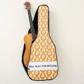 Het logo van Bitcoin - voor bitcoin zal spelen Gitaartassen